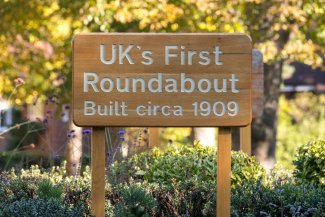 UKs first roundabout