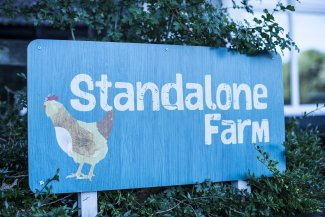 Image of Standalone Farm welcome sign