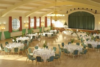Spirella Ballroom in use as a wedding venue