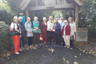 inner Wheel Club of Letchworth outside Willian Church