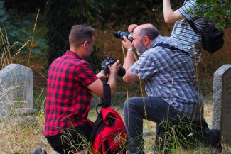 Letchworth Camera Club outdoor photography session