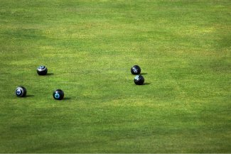 Bowls on a green