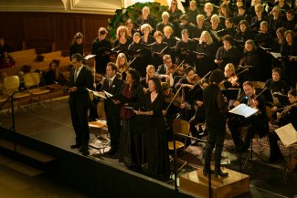 Choir on stage