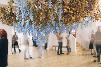 Image from the Still Life exhibition by Rebecca Louise Law at the Broadway Gallery