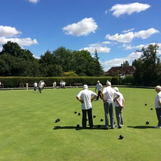 Willian Bowls Club during a match