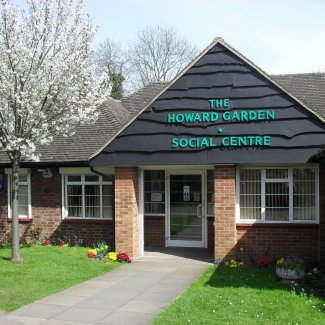Howard Garden Social Centre in Letchworth