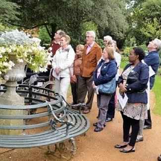 The Swiss Garden at Old Warden makes a good day out for Rotary members and guests