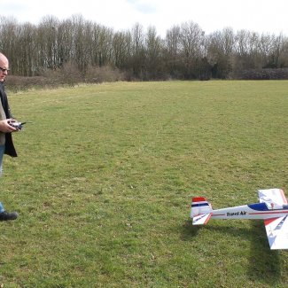Flying at Letchworth Model Aeronautical Society